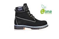 Ботинки Timberland 6 inch Black, фото 1