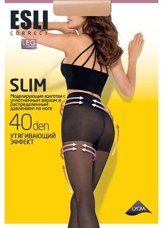 Колготки женские Esli SLIM 40 ден ( аналог Конте Актив 40), размер 5-6, Беларусь