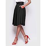 Стильная юбка длиной миди с удобными карманами по бокам, фото 2