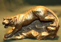 Тигр бронза