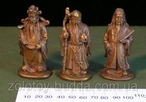 Три небесных старца бронза