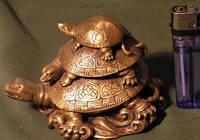 Черепаха бронза.