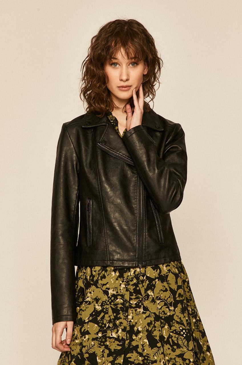 Куртка кожзам женская