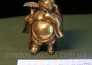 Чжу Бацзе́ Свинья-монах бронза.