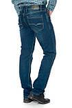 Мужские джинсы Franco Benussi 17-375 синие, фото 7
