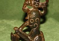 Музыкант реплика древности - агат