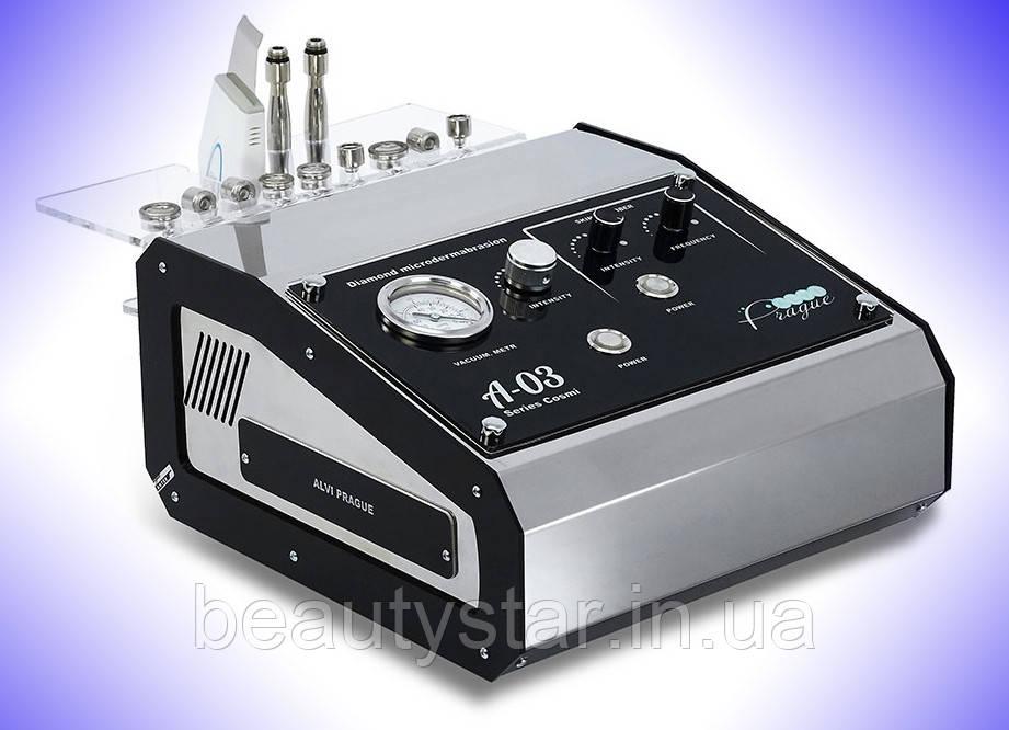 Аппарат алмазной микродермабразии + УЗ-скрабер A-03