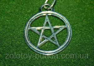 Амулет Магический щит серебро.