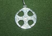Кельтский крест серебро
