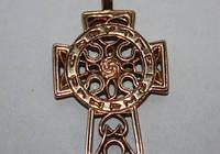 Амулет Кельтский крест бронза