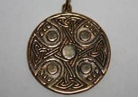 Кельтский крест бронза