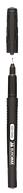 Маркер водостійкий, чорний, 0.5мм