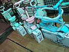 Самокат - беговел з батьківською ручкою Maraton Sigma 5 в 1 світяться колеса, фото 3