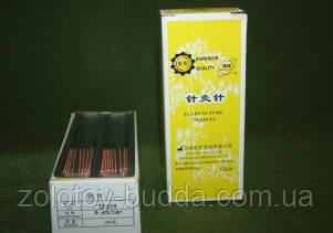 Иглы для акупунктуры 0,30*75 мм SUPERIOR QUALITY