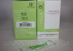 Иглы для акупунктуры, рефлексотерапии 0,16*7 мм - 500шт ZHONGYAN TAINE