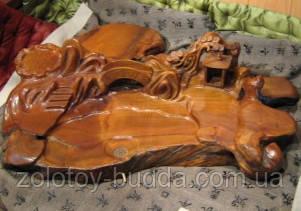Чабань, чайный столик камфорное дерево.
