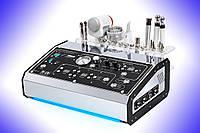 Многофункциональный косметологический аппарат (микротоки, ультразвуковой скрабер, молоток тепло-холод,пиллинг