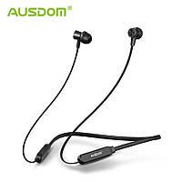 Беспроводные спортивные наушники (гарнитура) Ausdom S5 Black Wireless Neckband Sports Earbuds