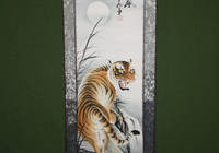 Китайская рисовая бумага - изображение тигра.
