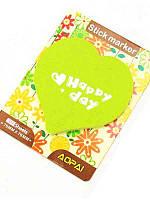 Стикеры фигурные (бумага для записей с липким слоем) ZH-0092 сердечки