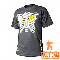 Футболка Helikon-Tex® T-Shirt (Chameleon in Thorax) - Cotton - Shadow Grey, фото 1