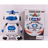 Робот 99444-2, 21см, музыка, свет, ездит, поворот 360