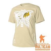Футболка Helikon-Tex® T-Shirt (Chameleon in Thorax) - Cotton - Khaki