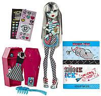 Кукла  Monster High  Френки Штейн в Классной комнате Frankie Stein Doll Home Ick Playset