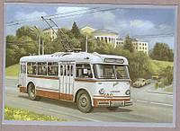 Почтовая карточка Троллейбус Киев-4