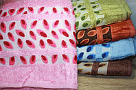 Бамбуковое полотенце всауну Листики