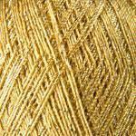 Пряжа с металликом Yarnart Bright 236 золото (Ярнарт Брайт)