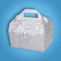 Свадебная коробочка для каравая 145х100х75 мм (арт. RC-34)