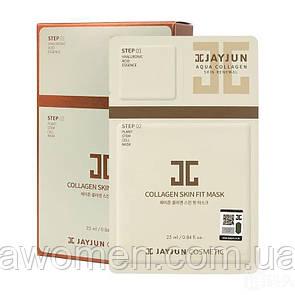 Экспресс-набор для упругости кожи Jayjun Cosmetic Collagen Skin Fit Mask