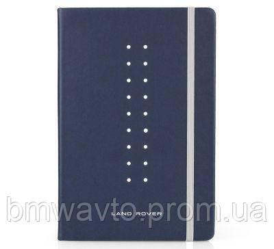 Блокнот Land Rover Note Book Large A5, Navy, фото 2