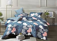 Двуспальный комплект постельного белья евро 200*220 хлопок  (12869) TM KRISPOL Украина