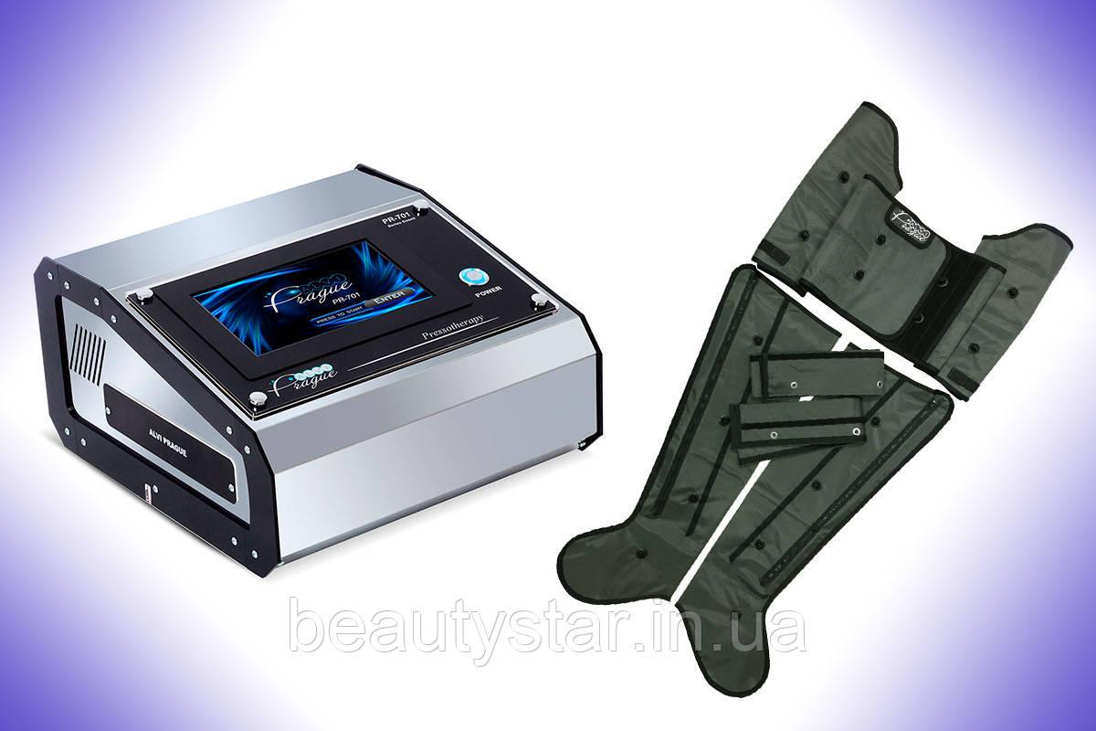 Лимфодренаж,прессотерапия:универсальный аппарат PR-701 ALVI
