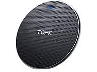 QI Зарядное устройство Topk 10 Вт  Черный