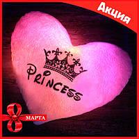 "💥Новинка!!!💥 👑Светящаяся LED подушка ""Princess""👑"