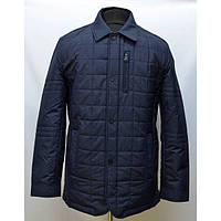 Красивая мужская куртка утепленная с воротником на молнии