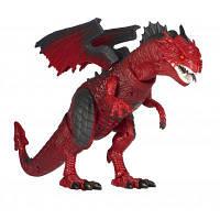 Интерактивная игрушка Same Toy Динозавр Dinosaur Planet Дракон красный со светом и звуком (RS6169AUt), фото 1