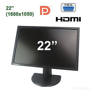 "Lenovo ThinkVision T2254pC / 22"" (1680x1050) TN LED / VGA, HDMI, DP, фото 2"