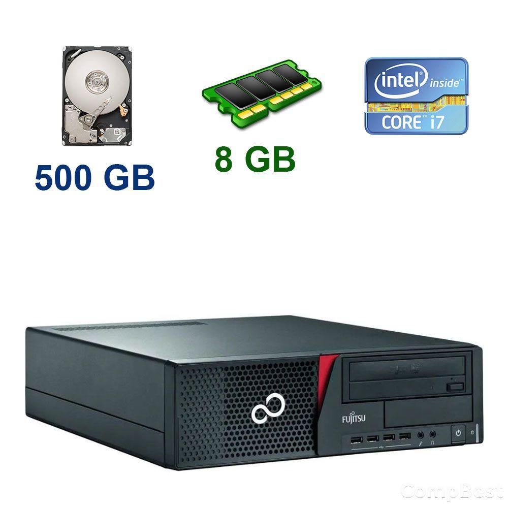 Fujitsu Esprimo E920 DT / Intel Core i7-4790 (4 (8) ядра по 3.6 - 4.0 GHz) / 8 GB DDR3 / 500 GB HDD