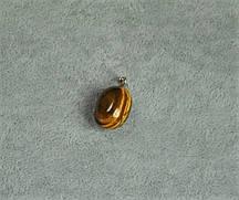 Кулон из натурального камня Тигровый глаз 13х24(+-)мм
