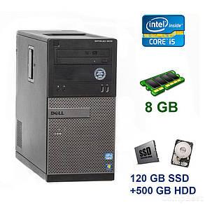 Dell OptiPlex 3010 Tower / Intel Core i5-2300 (4 ядра по 2.8 - 3.1 GHz) / 8 GB DDR3 / 120 GB SSD+500 GB HDD / nVidia GeForce GTX 1050, 2 GB GDDR5,, фото 2