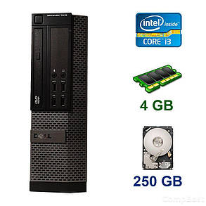 Dell OptiPlex 7010 SFF / Intel Core i3-2120 (2 (4) ядра по 3.3 GHz) / 4 GB DDR3 / 250 GB HDD / nVidia GeForce GT 1030, 2 GB GDDR5, 64-bit, фото 2