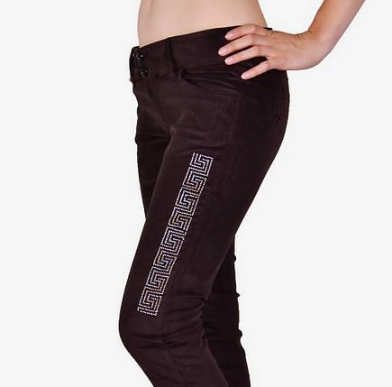 Вельветовые брюки женские (WB347/01) | 4 шт., фото 2