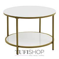 Стол кофейный GADEVANG, стеклянный (3600835)