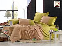 Однотонное постельное белье 200х220*70х70 Valtery сатин OD-12
