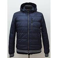 Молодежная мужская куртка утепленная спортивного стиля
