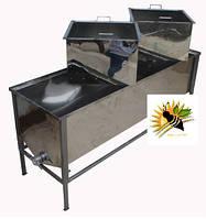 Стол для распечатывания рамок с Двумя корзинами 1,5м толщина 0,5мм
